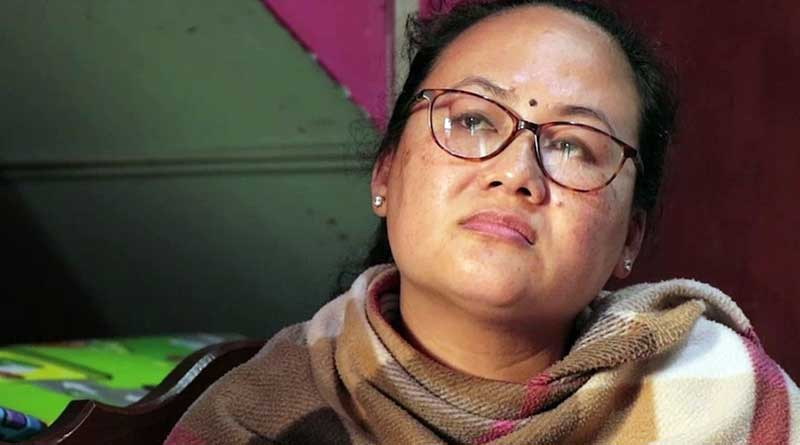 Life's changed, says Manipur journalist's wife