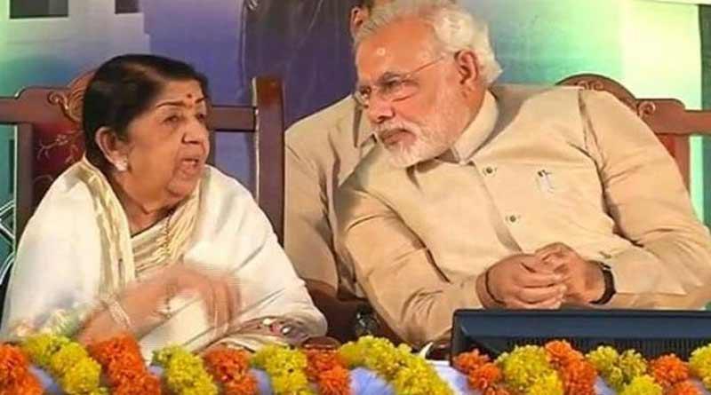 Lata Mangeshkar tweeted the video link of one of her songs