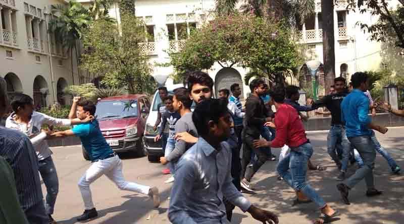 Students clash at Maula Azad College
