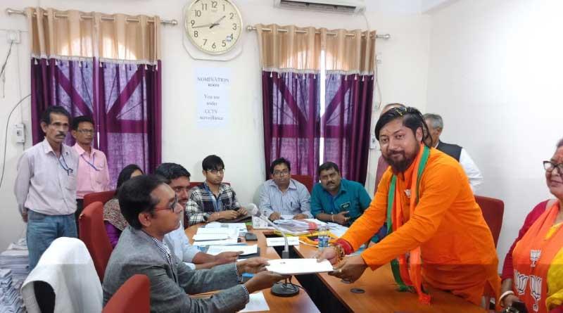 TMC demands cancellation Of BJP candidate's nomination
