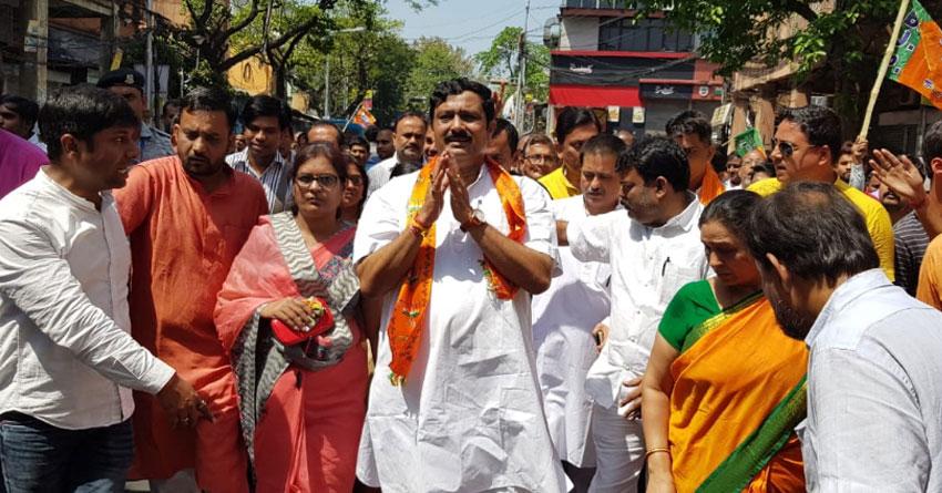 BJP candidate from Kolkata Ullar Rahul Sinha slams CM Mamata Banerjee