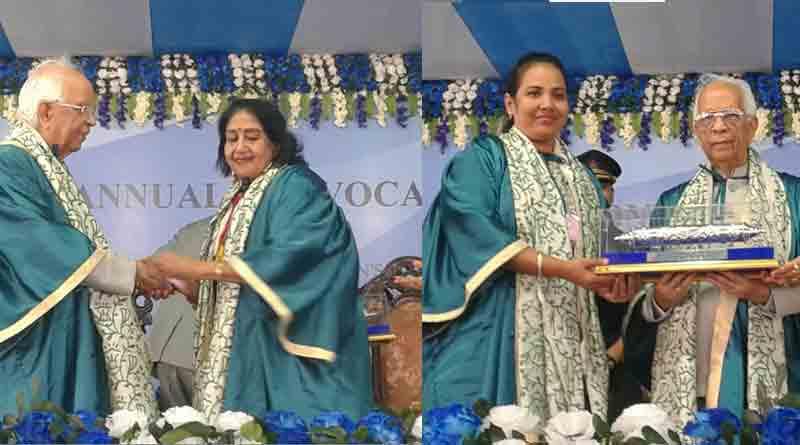 Diamond Harbour University to confer D. Lit on Sabitri Chatterjee