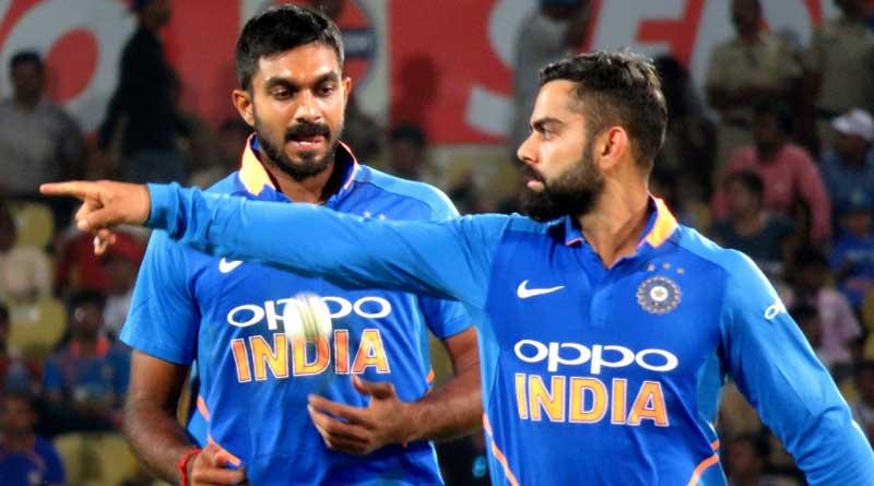 Virat Kohli on Vijay Shankar's last over