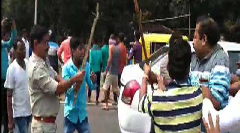 Clash in Khardah, 5 injured