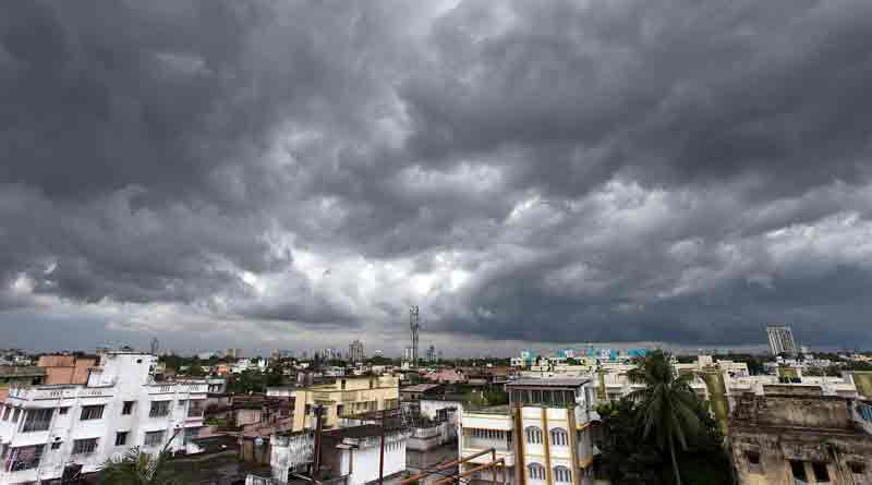 A thunder shower will occure in westbengal in the evening