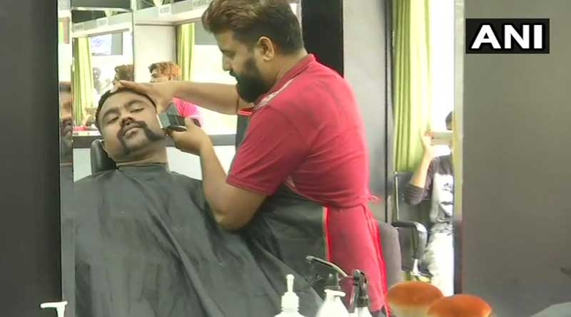 Abhinandan moustache style trends.