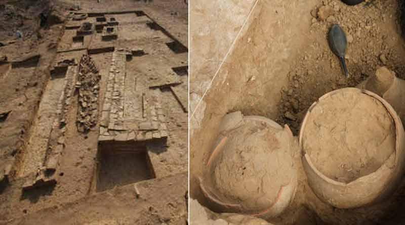 5000-year-old human skeleton excaveted in Kutch