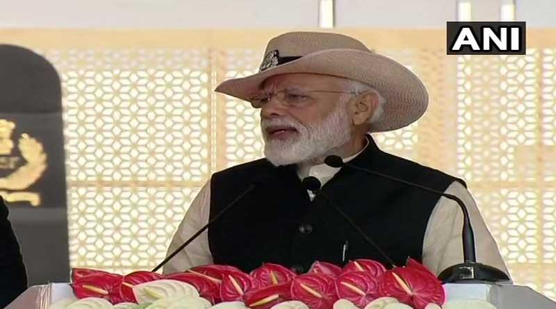 PM slams Pakistan at CISF Raising Day.
