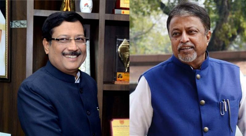 Mukul Roy meets Bidhannagar Mayor Sabyasachi Dutta again