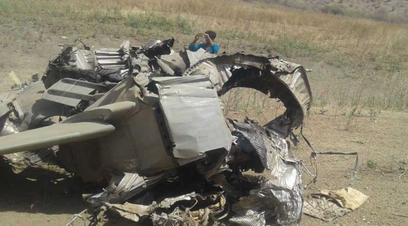 MIG 27 aircraft on routine mission crashes in Jodhpur