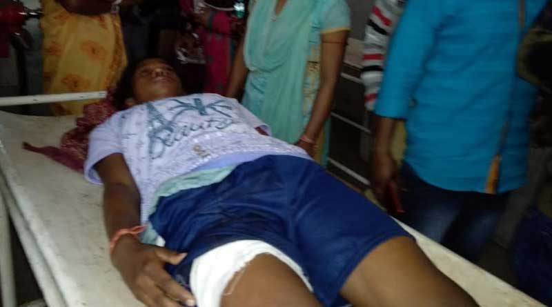 A student injured in a shootout