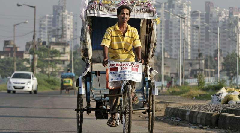 rickshaw-puller will visits Pakistan