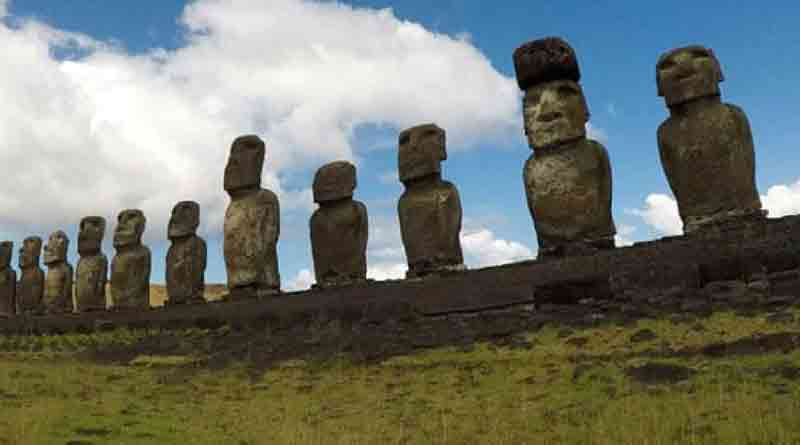 Climate change affects on natural sculpture in Chile