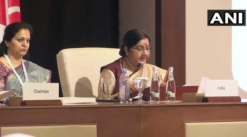 Sushma warns Pak for Terror funding