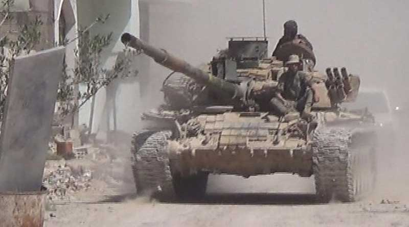 22 secuity personnel killed in Syria