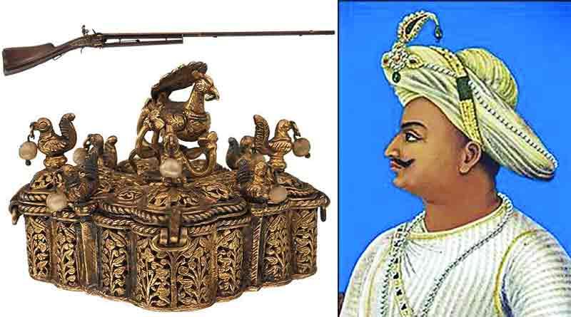 The gun of Tipu Sultan, sword of Hyder Ali auctioned in Britain