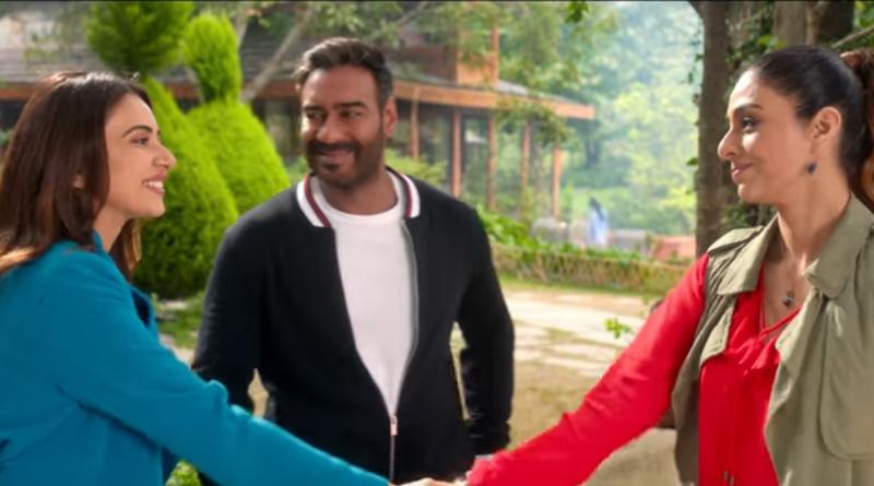 Ajay Devgn's new movie 'De De Pyaar De' trailer released