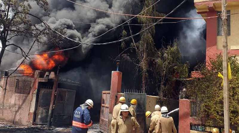 Fire At Chemical Factory In Delhi's Naraina, 30 Fire Engines At The Spot.