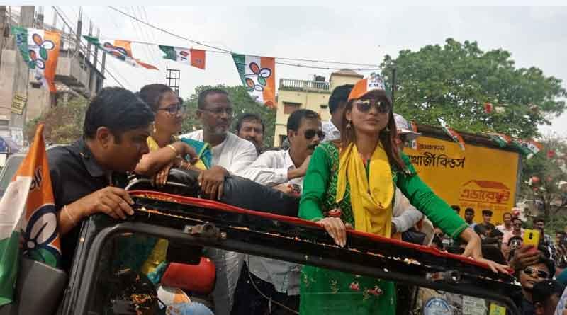 Star candidates have to avoid convoy in door to door campaign