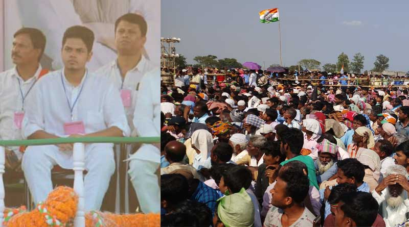 Young congress leader Priyadip Dashmunsi Delivers first speech