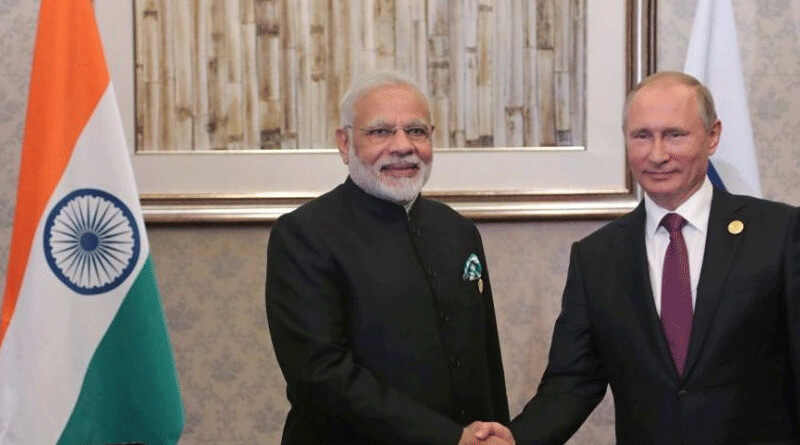 PM Modi gets highest civilian award of Russia- Order of St Andrew.