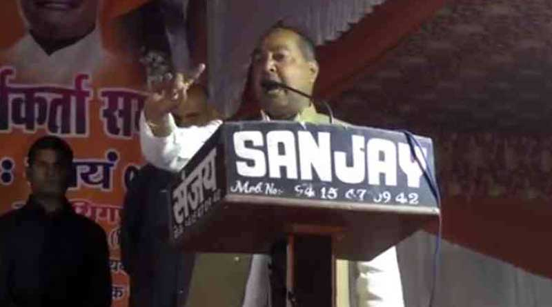 Vote in favour of Modi if you want to destroy Muslims: BJP leader.