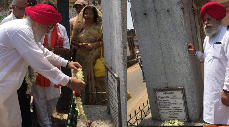 SS Ahluwalia did election campaign in on Bengali Nababarsha