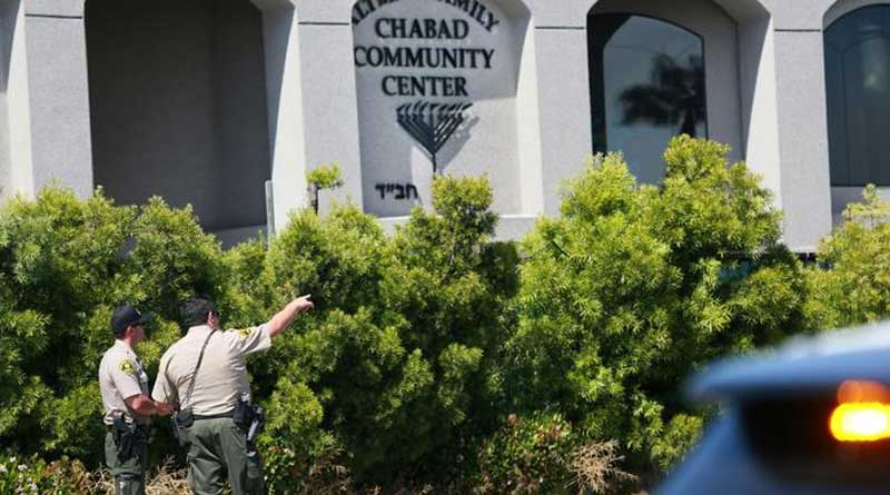 1 Dead, 3 Injured As Teen Gunman Opens Fire In US Synagogue.