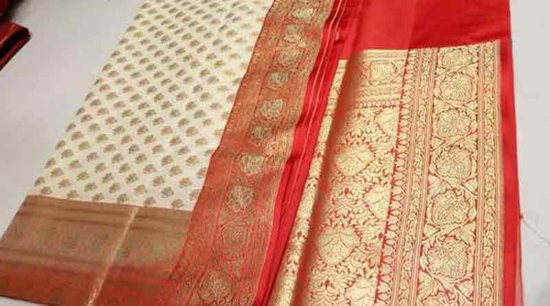 WHITE_RED SAREE