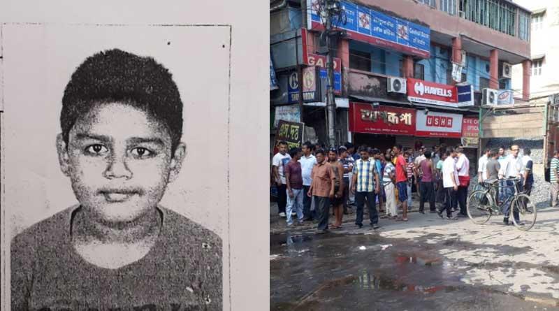 Death Of a schoo student in road mishap bolis Belgharia