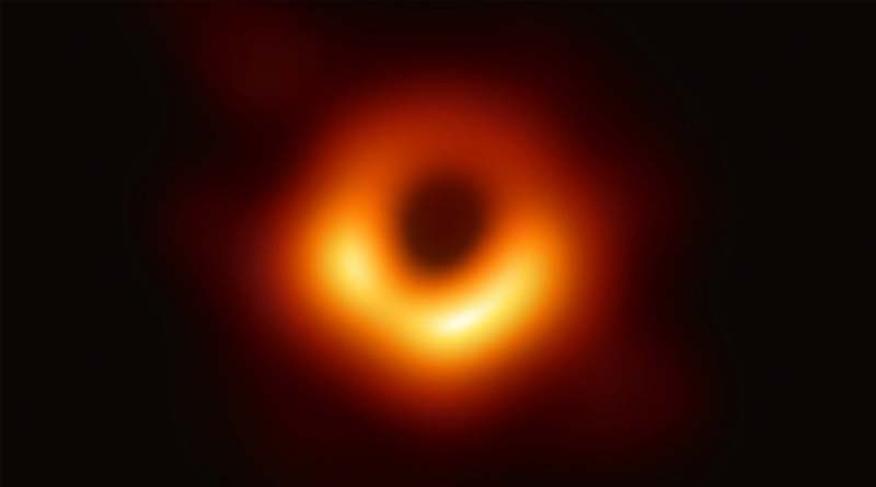 First-ever picture of a black hole was captured by astronauts
