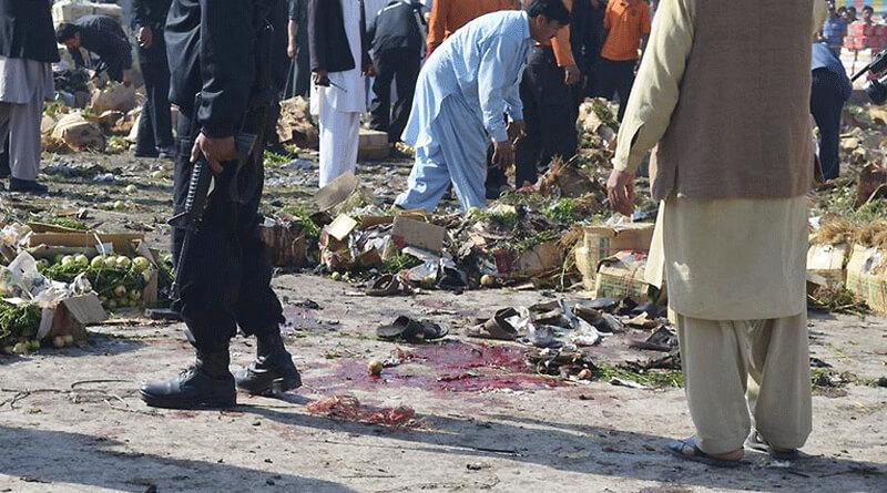Blast at Sabzi Mandi in Pakistan's Quetta Kills 16, Injures 20.