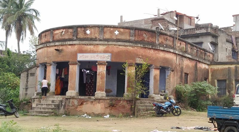 House of famous writer Banaful in Bhagalpur is a beauty parlour now