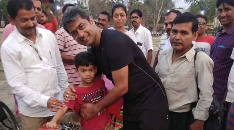 Polite behavoiur attacts people to the BJP candidate of Krishnanagar Kalyan Chaubey