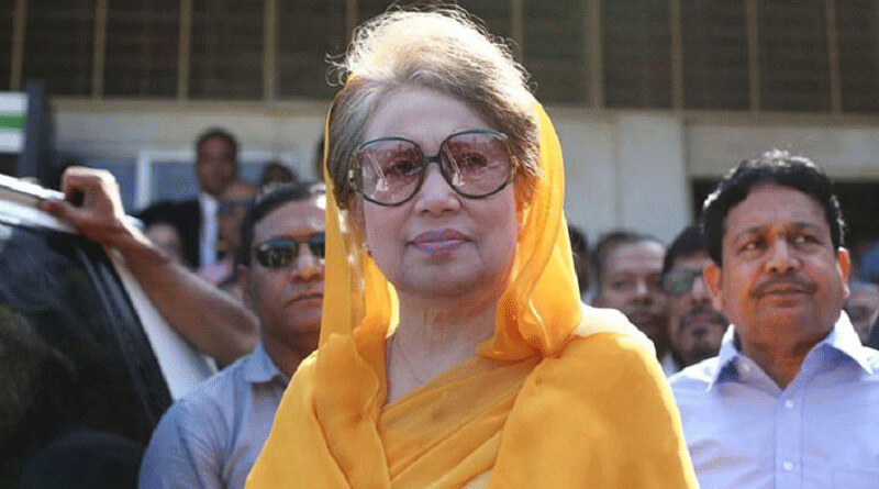 Arrest warrant against Kahleda Zia for defamatory remarks.