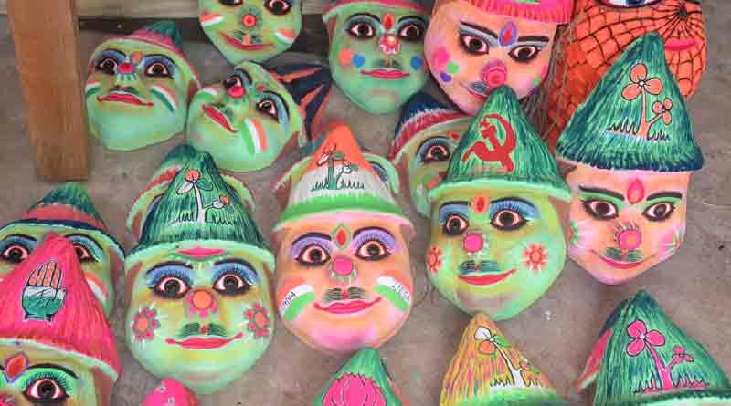 Masks are on high demand ahead of Loksabha election in katwa