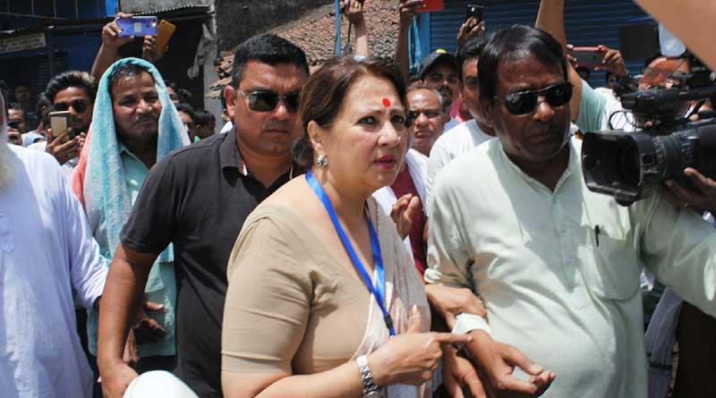 TMC candidate Moonmoon Sen keeps low profile during polls