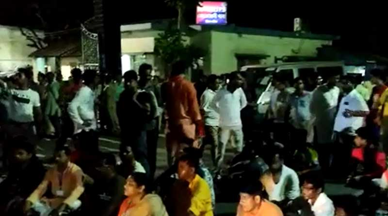 BJP youth leader and 3 others have been attacked in Nadia