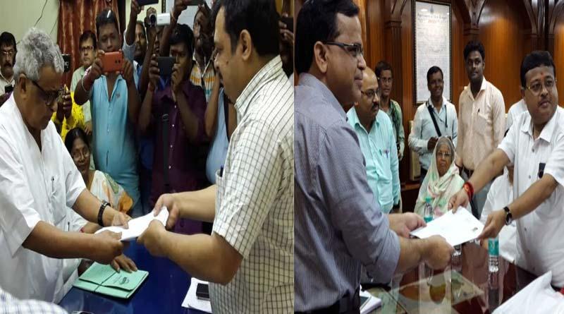 TMC candidate of Kanthi and Tamluk files nomination