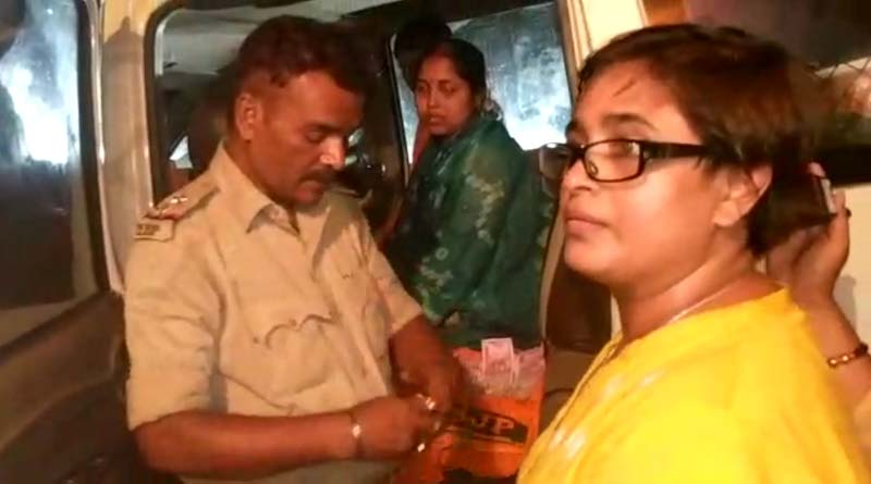 Five BJP leaders arrested with cash from Joynagar