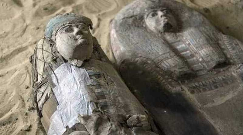 4,500-year-old burial ground discovered near Egypt's great pyramids.