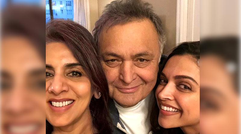 Deepika Padukone met Rishi Kapoor at New York city after Met Gala round