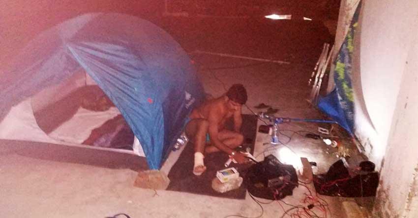 HAM Radio operators works fluently at Puri fighting Cyclone Fani