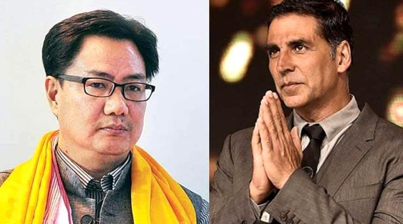 Kiren Rijiju supports Akshay Kumar on his citizenship row