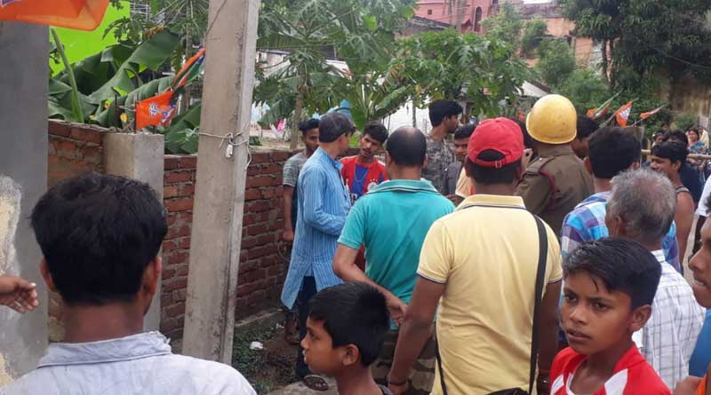Smoke emerges from lamppost, panic spreads in Kanksa