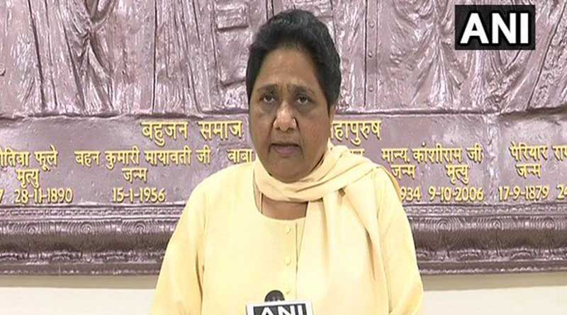 BJP treated Azhar as guest, now wants votes in his name: Mayawati