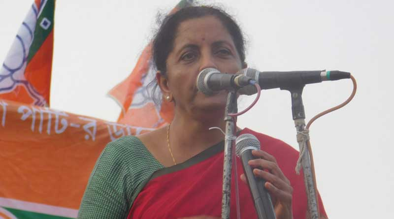 Defence Minister Nirmala Sitaraman adresses campaigns in the state