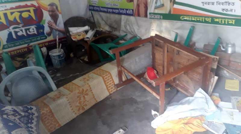 Madan Mitra slams BJP over vandalizing TMC party Office