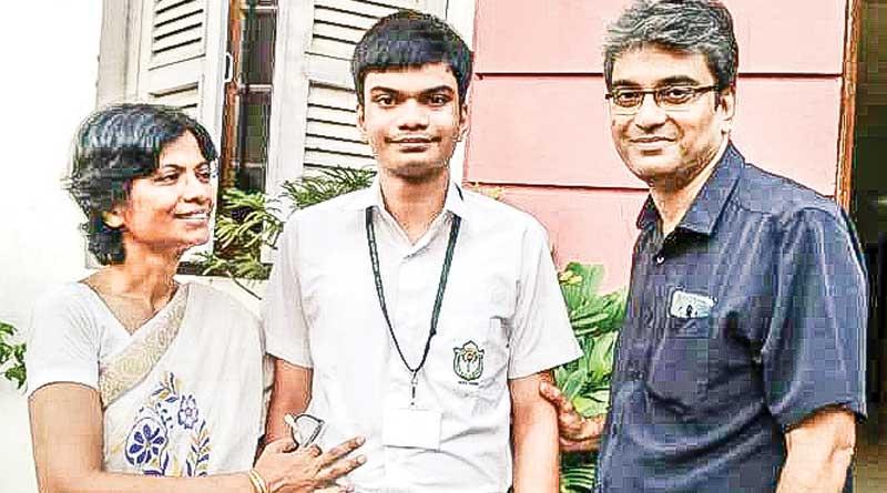 Autistic child Kritiman Dasgupta scores 92% in CBSE class X exam