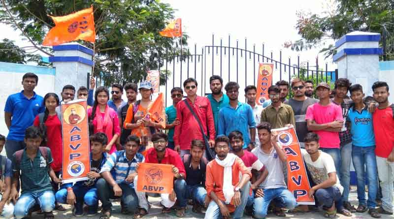 ABVP accused to make chaos in Tehatta Government College
